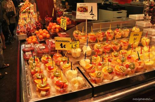 Frutta al mercato di Barcellona