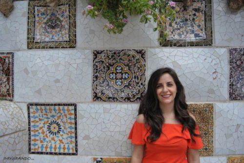 Park Guell progettato da Gaudi