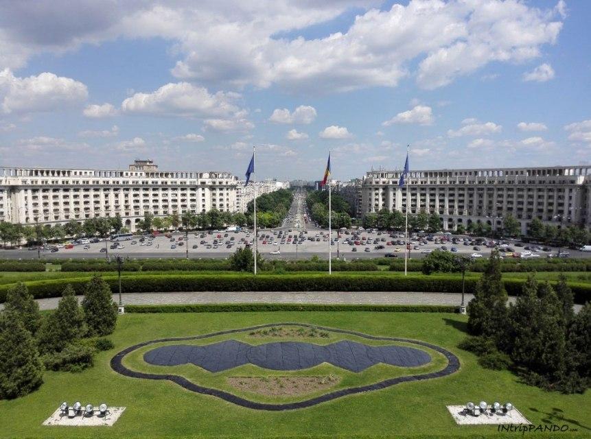 Parlamento Bucarest vista