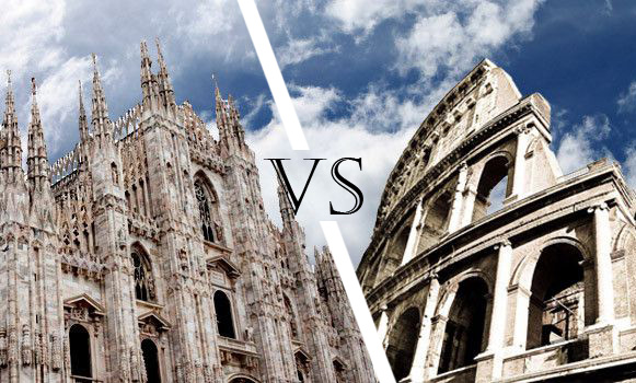 Food: Milano vs Roma