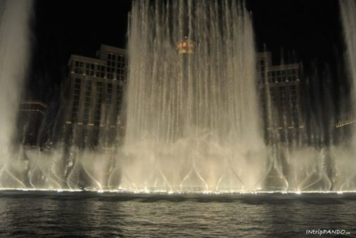 fontane del Bellagio a Las Vegas