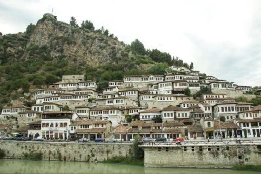 Borgo di Berat in Albania