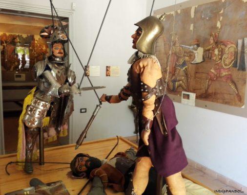 Pupi siciliani al Museo Opera dei Pupi