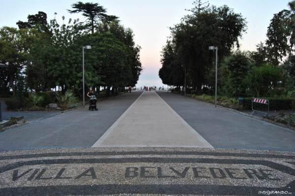 Entrata Villa Belvedere ad Acireale