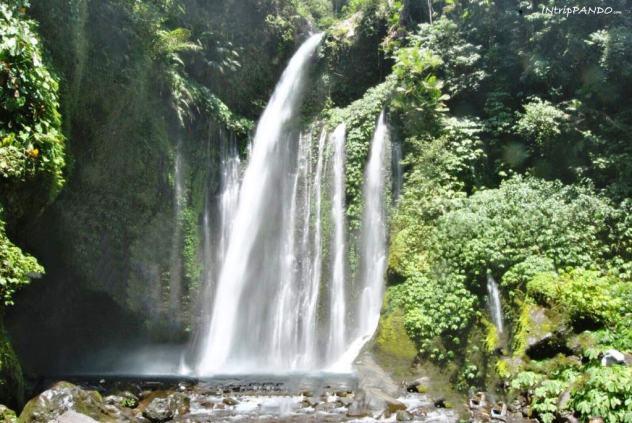 cascate Sendang Gile a Lombok