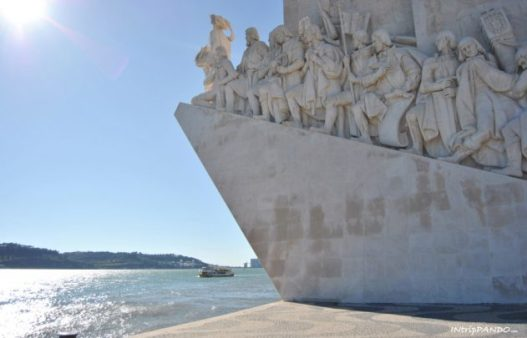 monumento alle scoperte a Lisbona