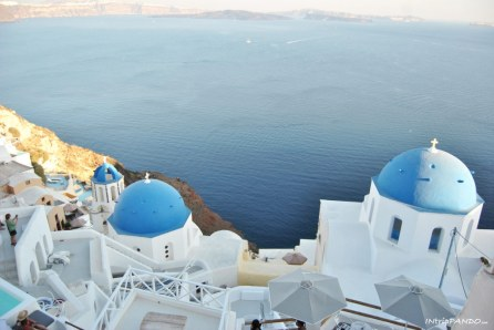 Le cupole blu di Oia