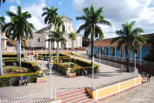 Vista di Plaza Mayor a Trinidad