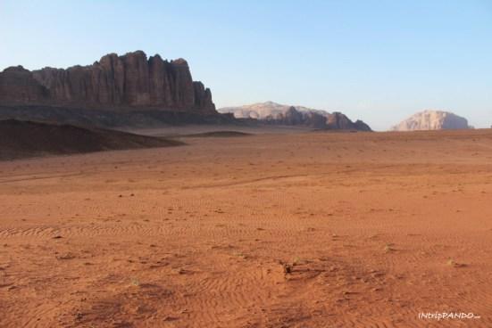 Gli splendidi panorami del Wadi Rum