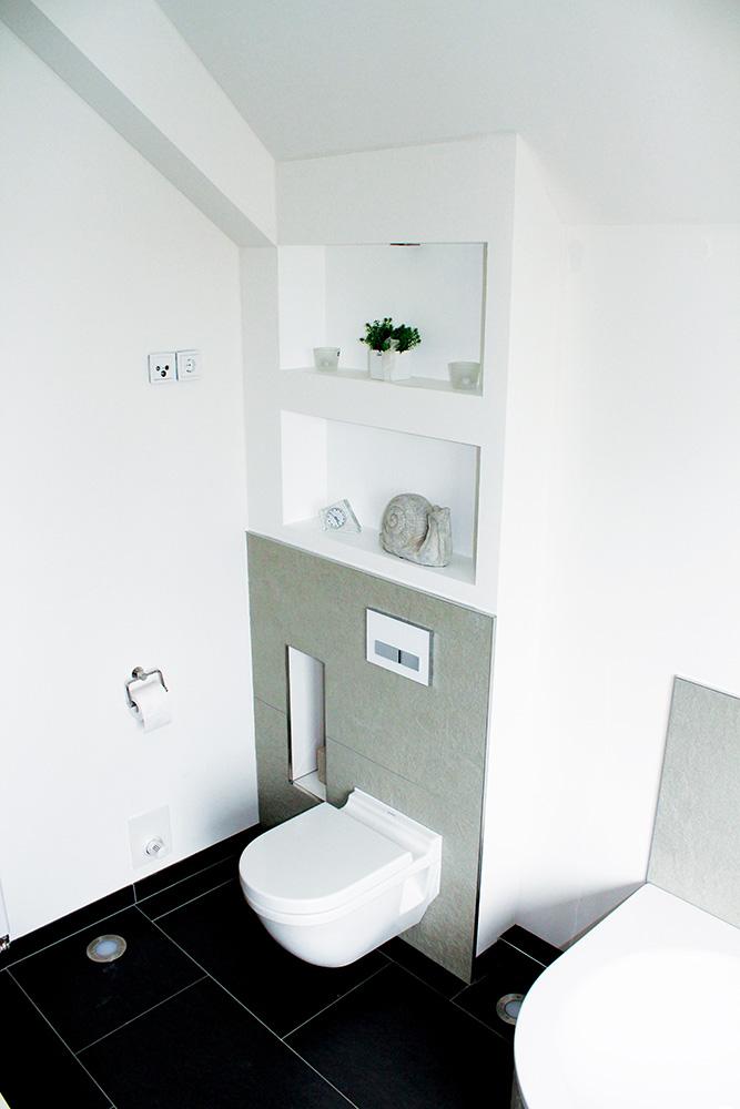 Nischen Badezimmer | Nische Dusche Nischentür Dusche ...