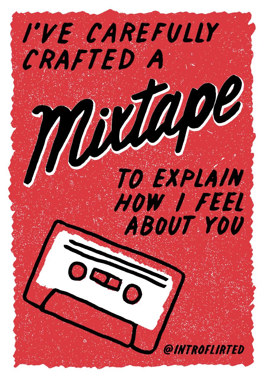 Introflirted #18C Mixtape by Josh Higgins