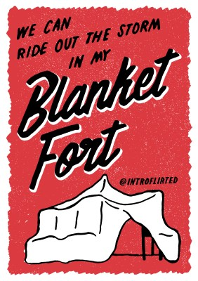 Introflirted #23 Blanket Fort by Josh Higgins