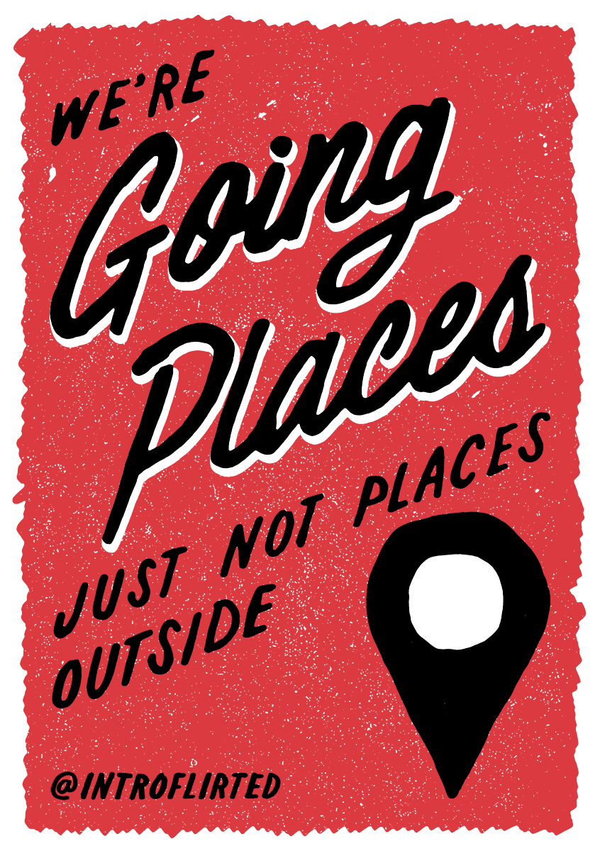 Introflirted #34 Going Places by Josh Higgins