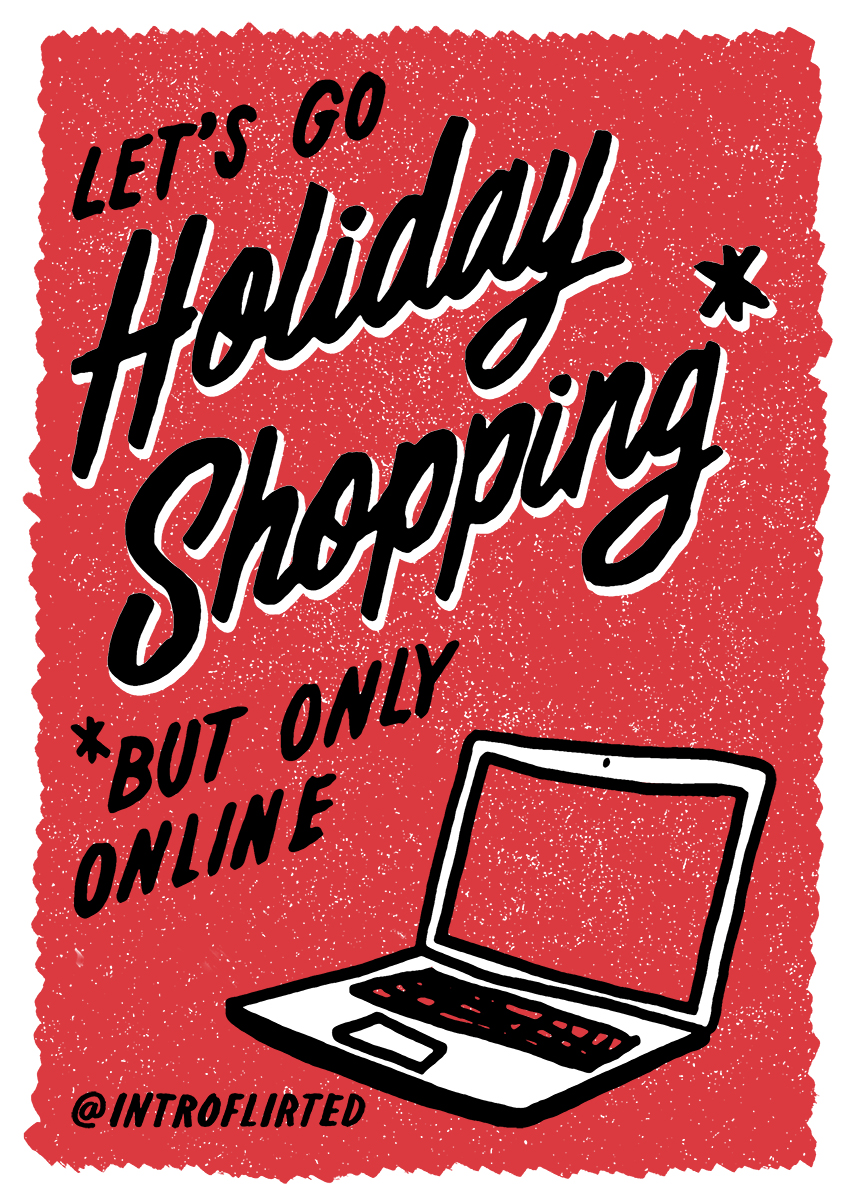 Introflirted #35 Holiday Shopping by Josh Higgins