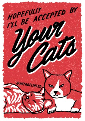 Introflirted #37 Your Cats by Josh Higgins