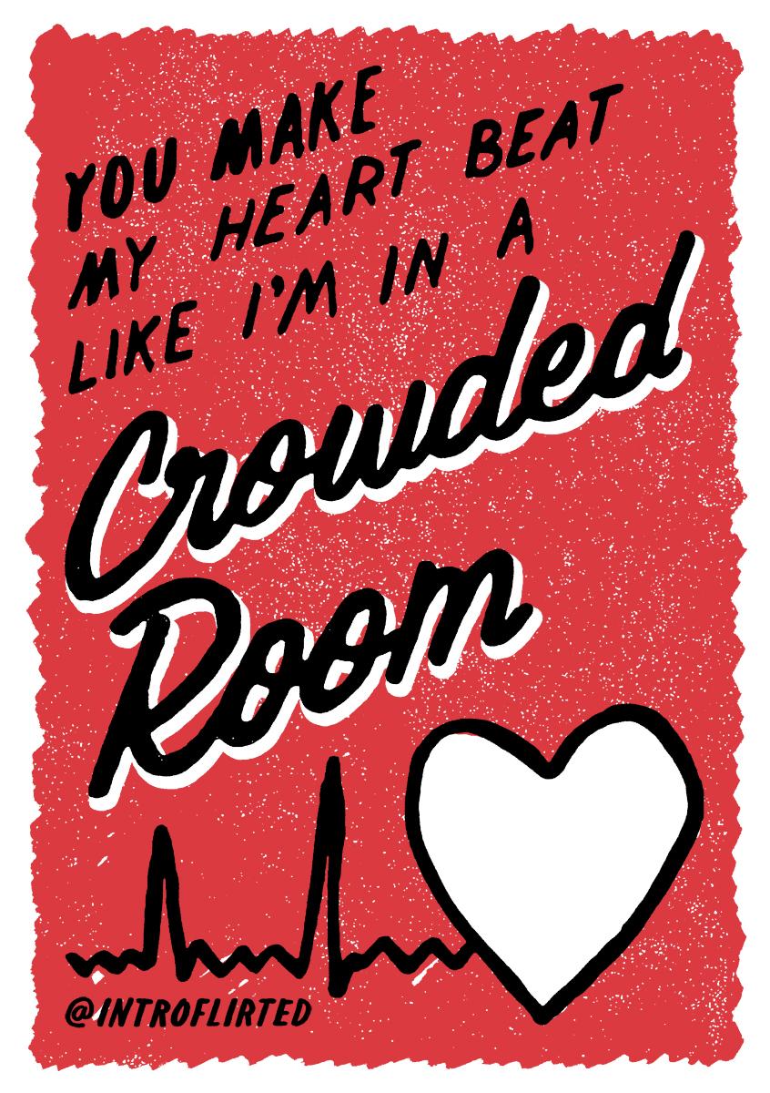 Introflirted #44 Crowded Room by Josh Higgins