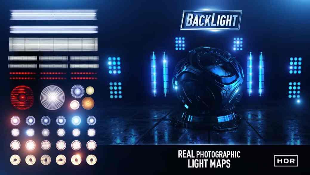 Video Copilot - BackLight: 8K Environments & Light Maps