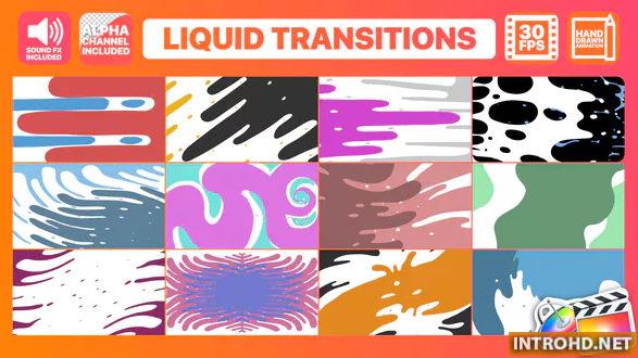 Videohive Liquid Motion Transitions Final Cut Pro » Free