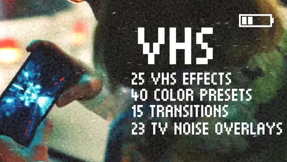 Download Download VHS Effects Pack for Premiere Pro - FREE ...