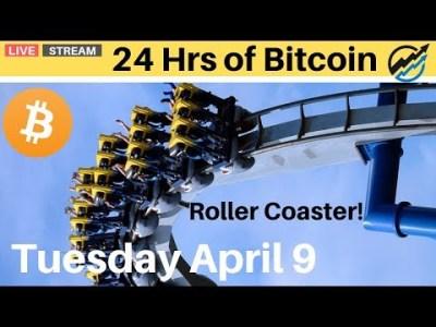 Bitcoin Technical Analysis Today – Roller Coaster   Tuesday April 8 2019