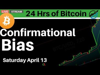 The Danger of Trading Bitcoin With Confirmational Bias | Saturday April 13 2019