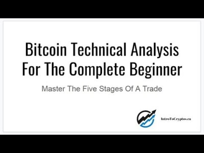 Bitcoin Technical Analysis For The Complete Beginner   LIVE WEBINAR