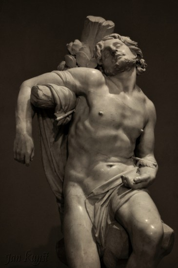 Figure 8 - Bernini, Saint Sebastian sculpture, 1617-18.