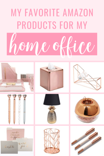 Favorite Amazon Products for Your Home Office