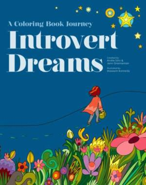 Introvert Dreams Coloring Book cover
