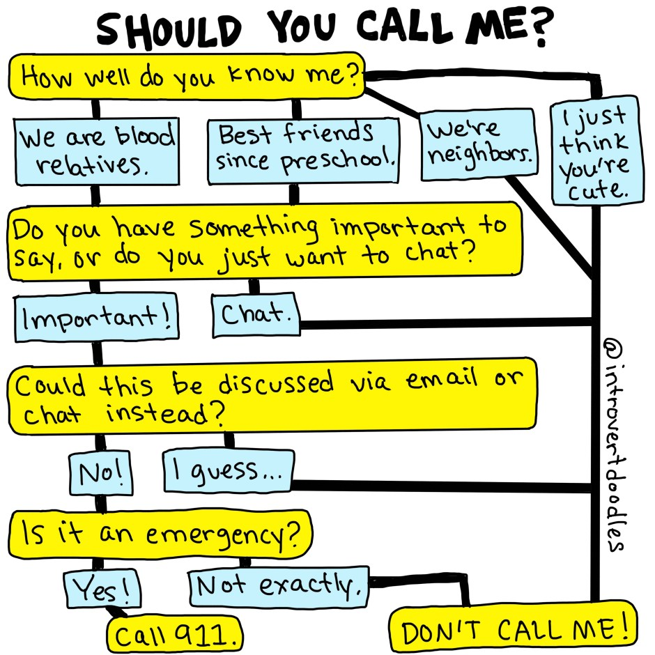 text dont call
