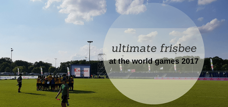 ultimate frisbee world games 2017