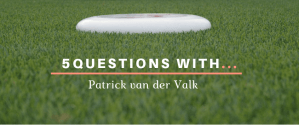 5 questions with Patrick van der Valk