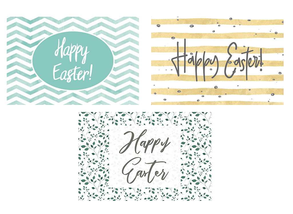 This is a photo of Free Printable Easter Cards regarding colour