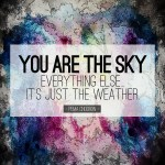 You Are the Sky…