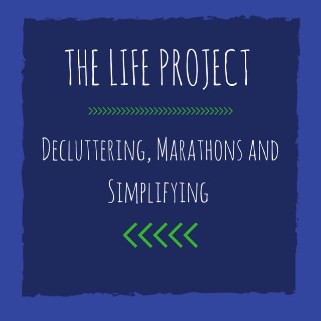 Decluttering, Marathon Training, and Simplifying in May