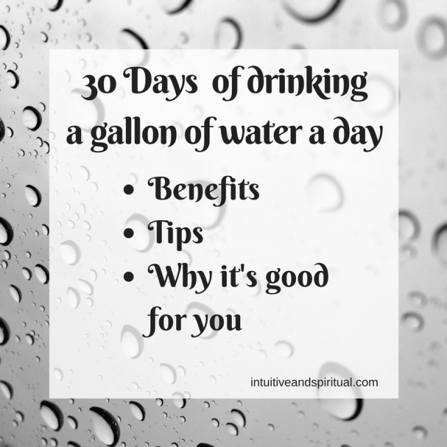 What I've Learned Drinking a Gallon of Water a Day for 30 Days