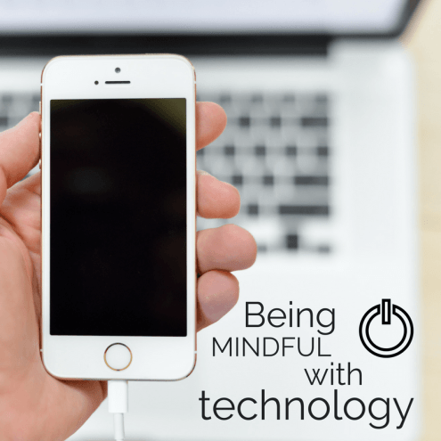 using smart phones mindfully
