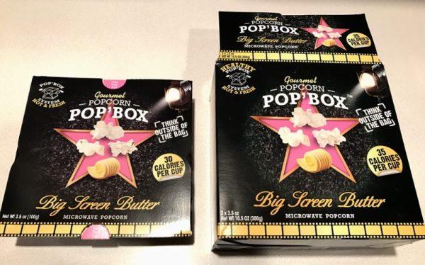 pop box microwave popcorn inconsistent calorie count packaging fail