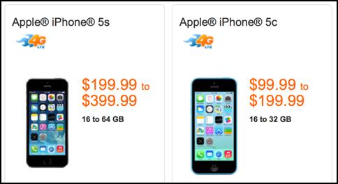 att store iphone prices