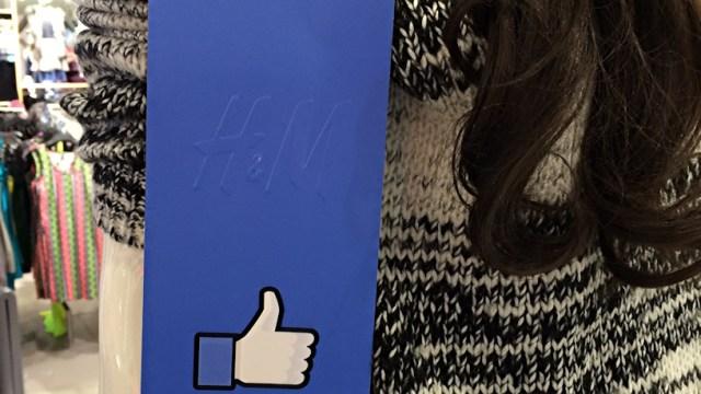 H&M Fan Favorite Tag In Store
