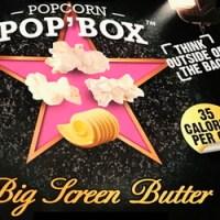 pop box popcorn packaging nutrition label inconsistencies