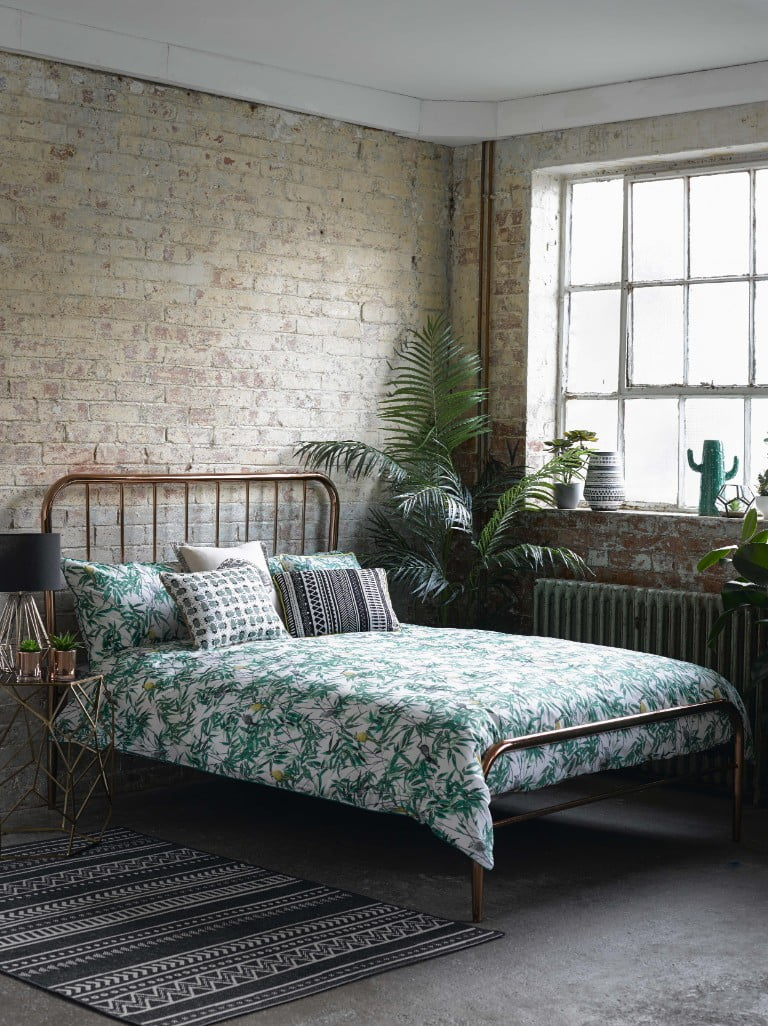 George Home Leaf Print Bedding