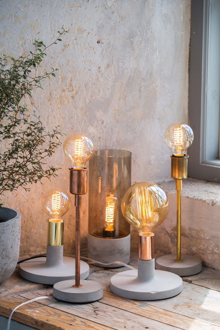 Vintage Lighting | Autumn Styling