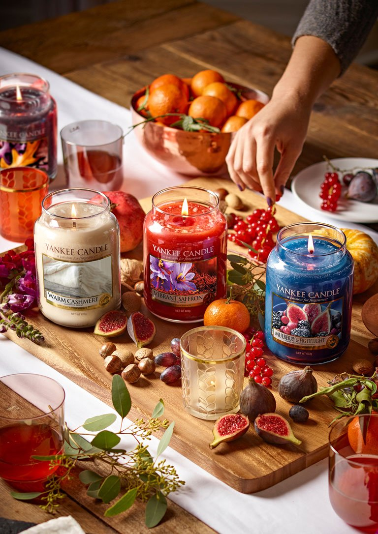 Yankee Candle Fall In Love Candles | Autumn Styling