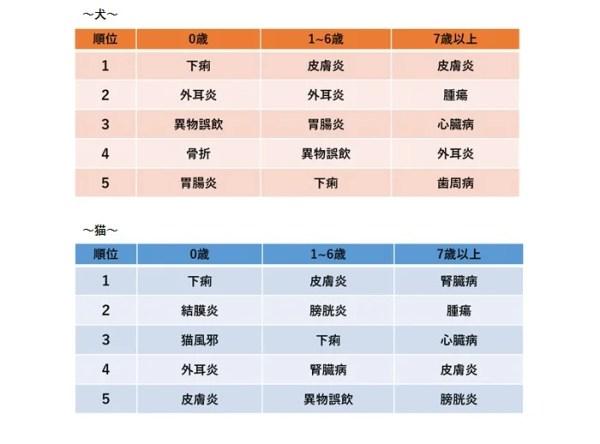 調査結果3 保険金請求が多い傷病のランキング 【年齢別編】