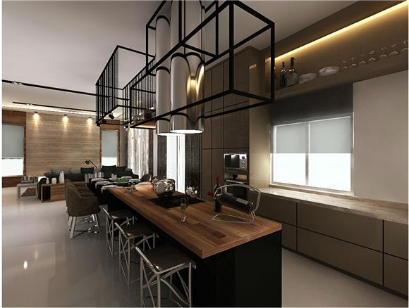 Dry Kitchen On Invaber Lky Renovation Works Leading Plywood