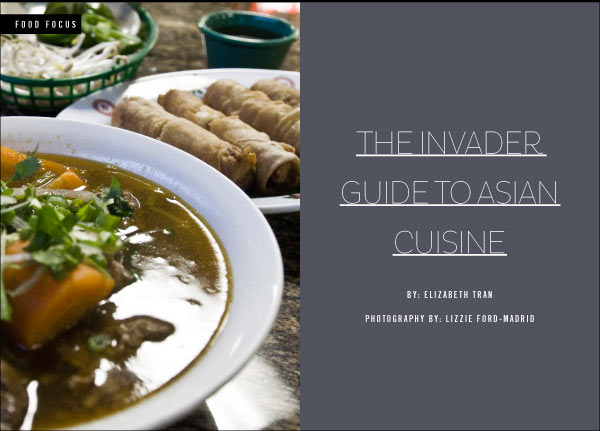 invadeNOLA   –  THE INVADER GUIDE TO ASIAN CUISINE
