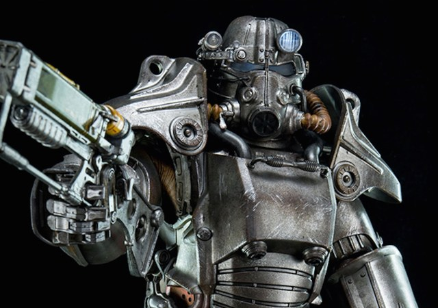 Imposante Fallout 4-figurine gespot - Fallout 4