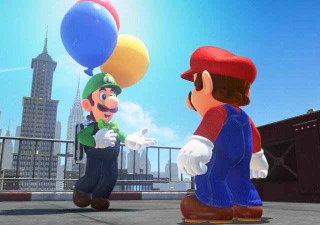 Luigi Balloon World