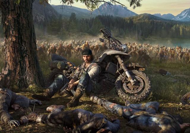 Days Gone bike sitting zombies